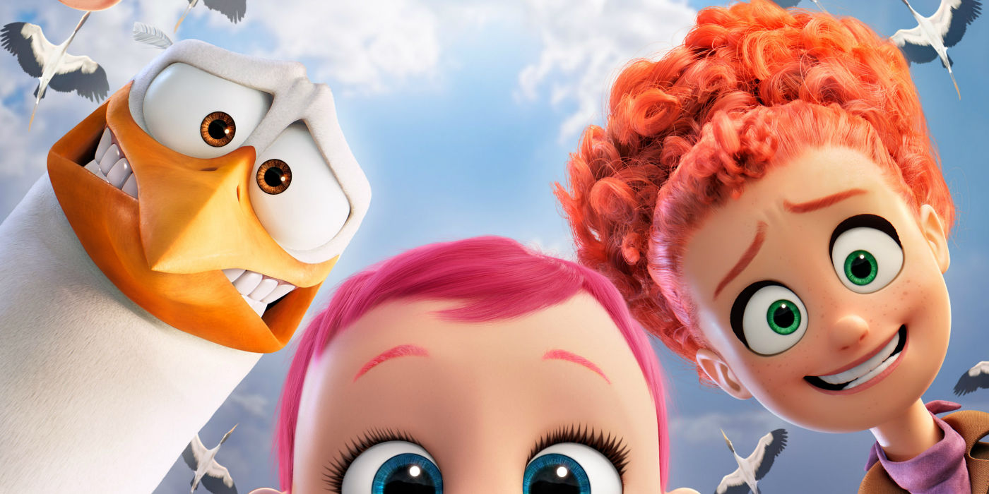 Trailer & Review: Storks