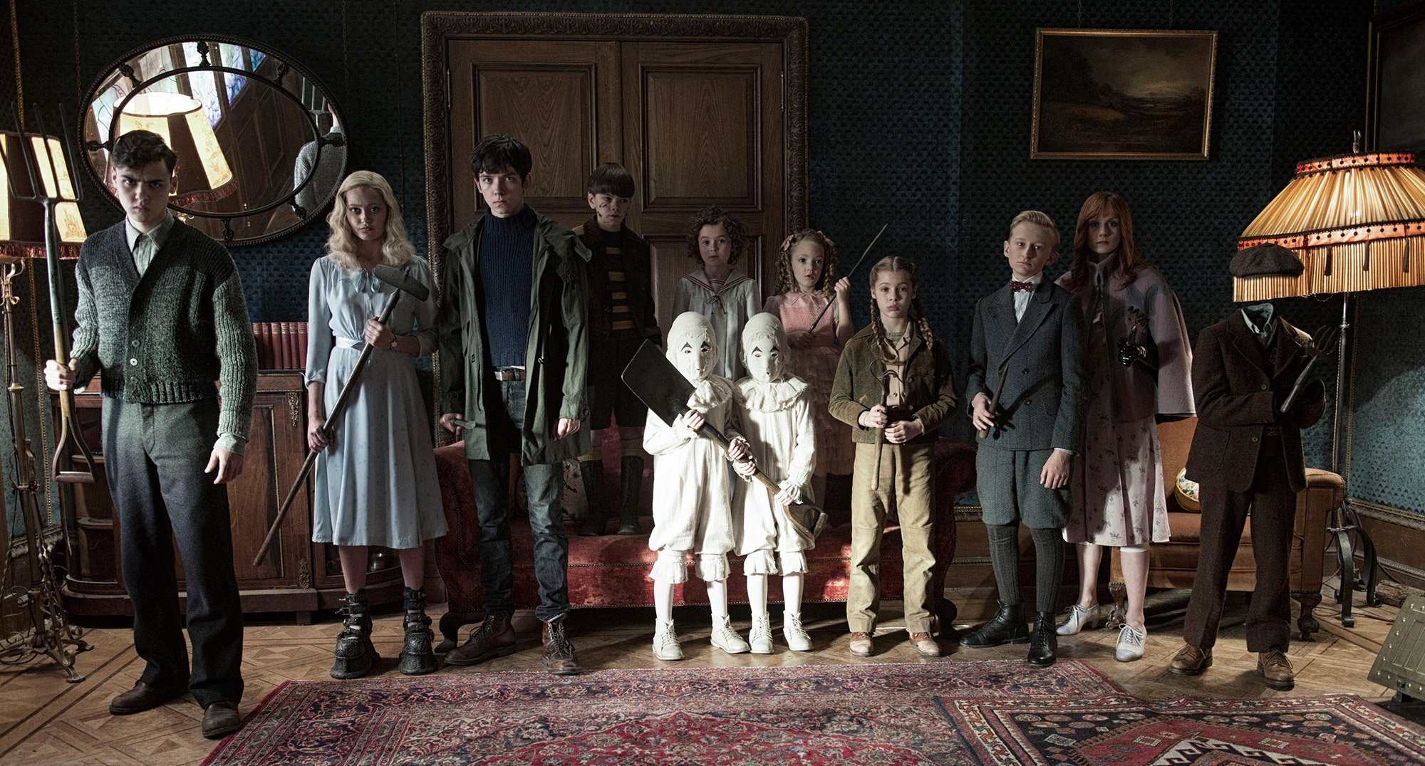 Trailer & Review:  Miss Peregrine's Home for Peculiar Children