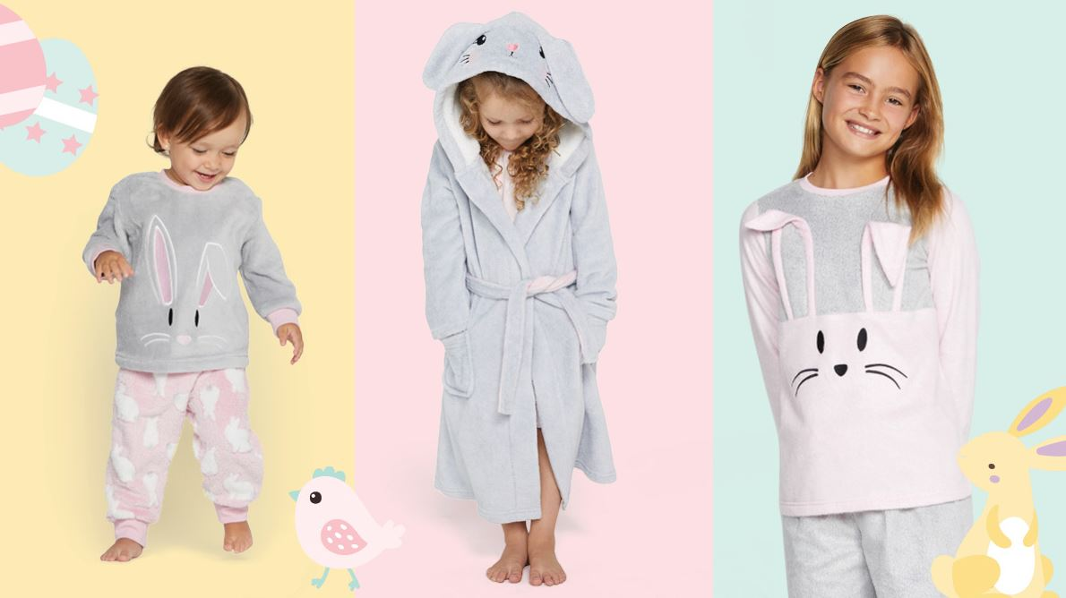 The cutest PJs for every bunny!