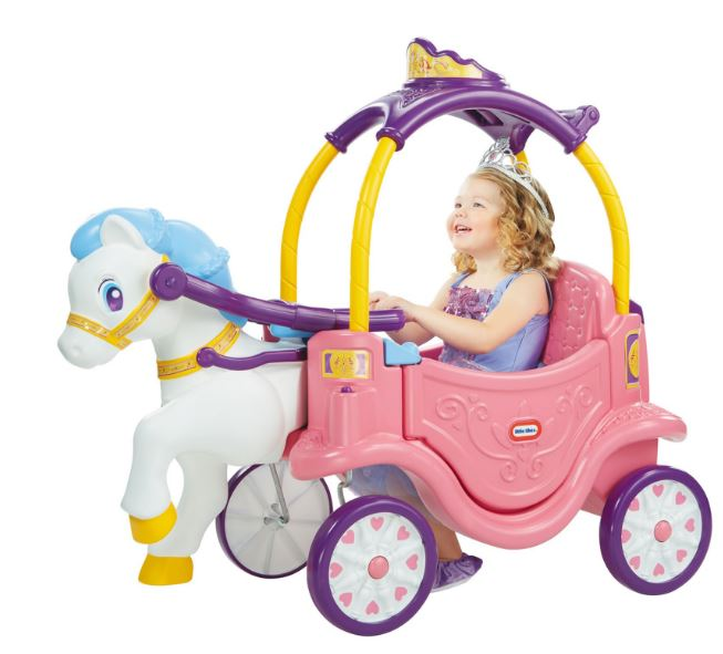 little tikes horse carriage
