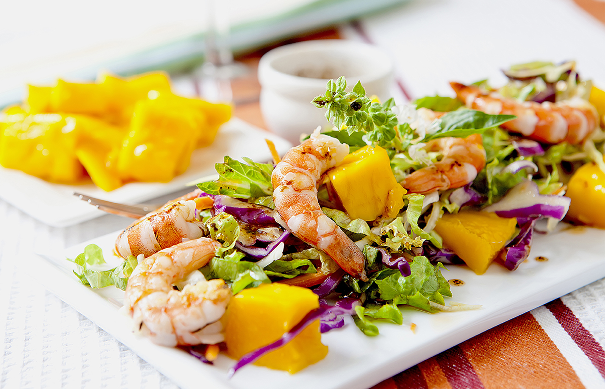 RECIPE: Prawn Mango Salad