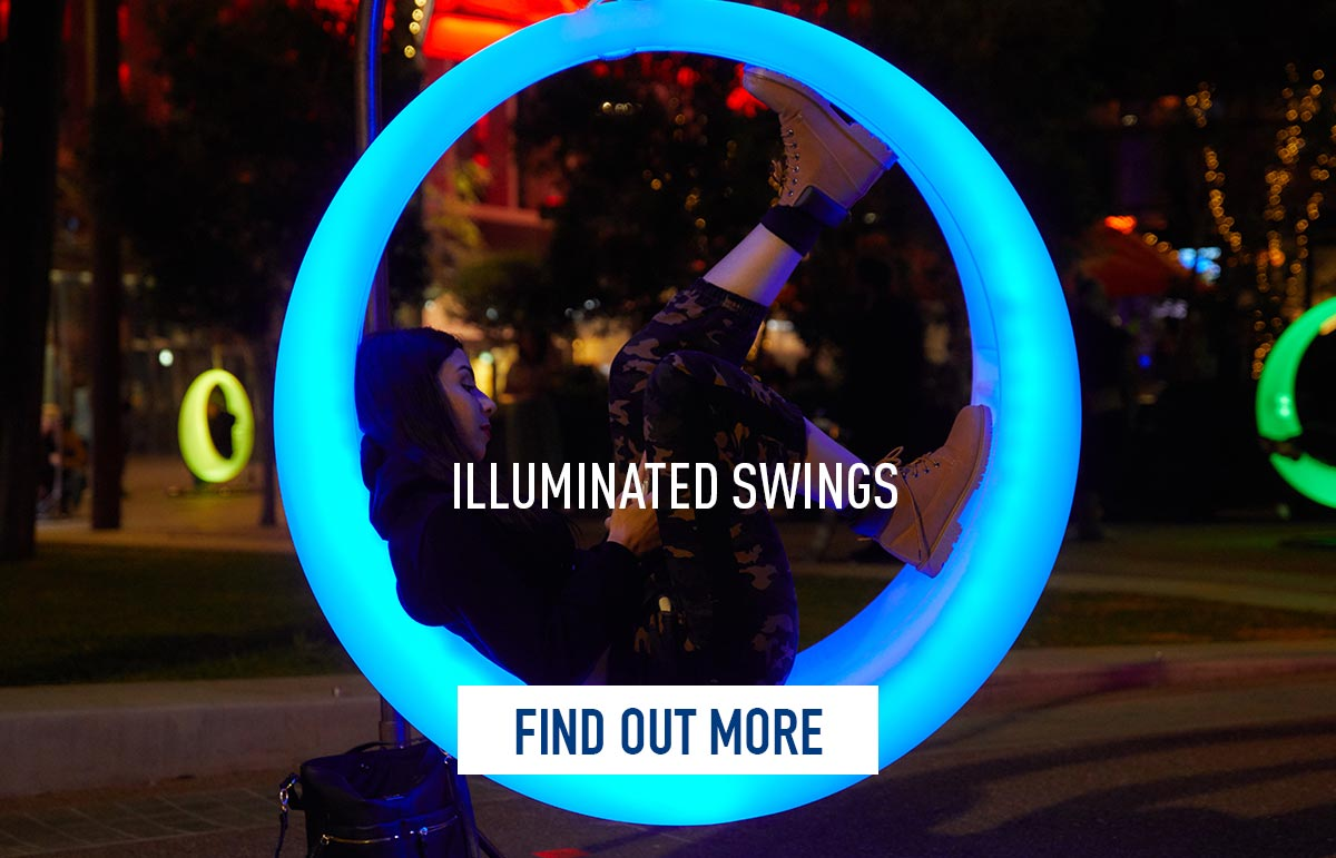 Rouse Hill Town Centre 12 Nights Swings
