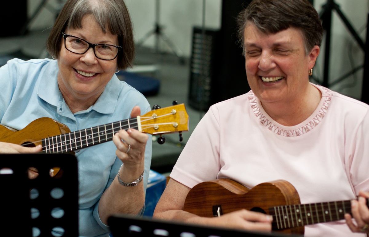 Weekly Ukulele classes