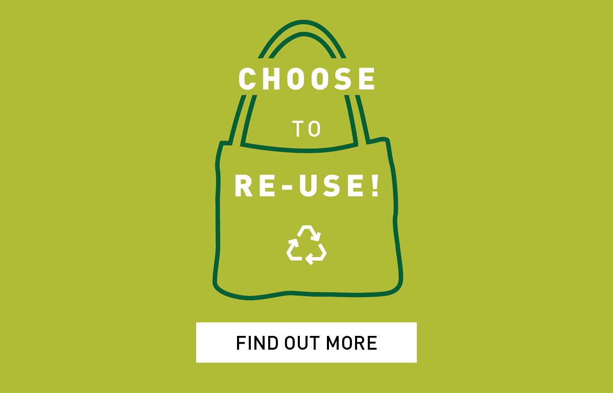 Remember to bring your Reusable Bag