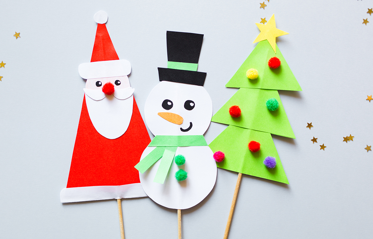 5 Fun and easy Christmas Crafts for Kids