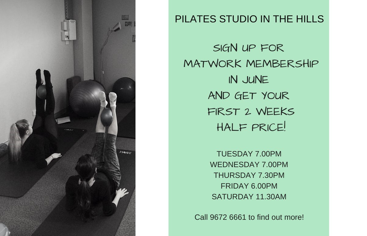 Pilates June Offer