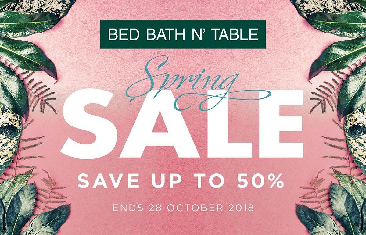 Bed Bath N' Table Spring Sale