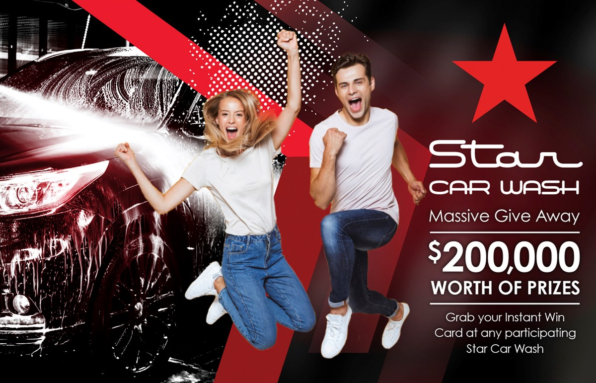 Star Car Wash $200,000 Giveaway